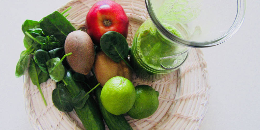 Apple, Spinach & Cucumber Juice