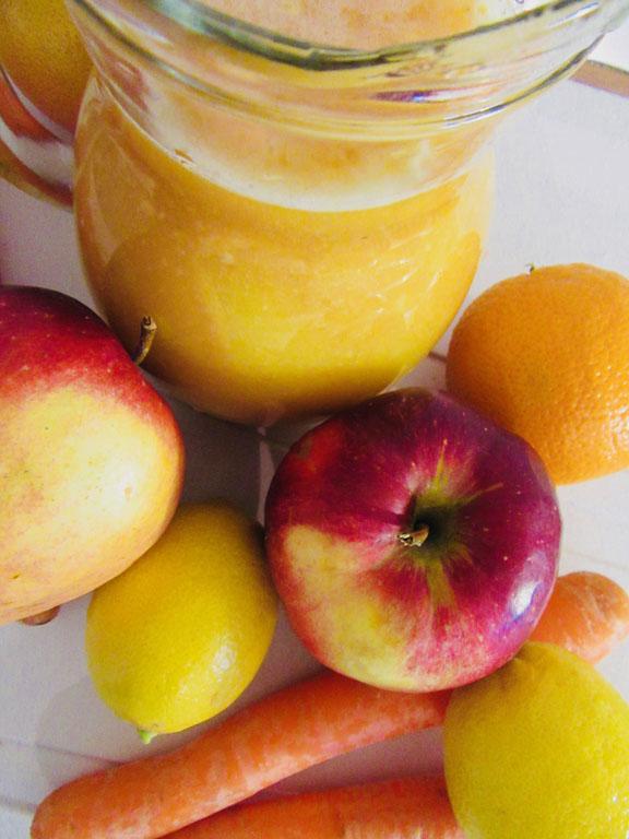 Orange, Lime & Carrot Juice