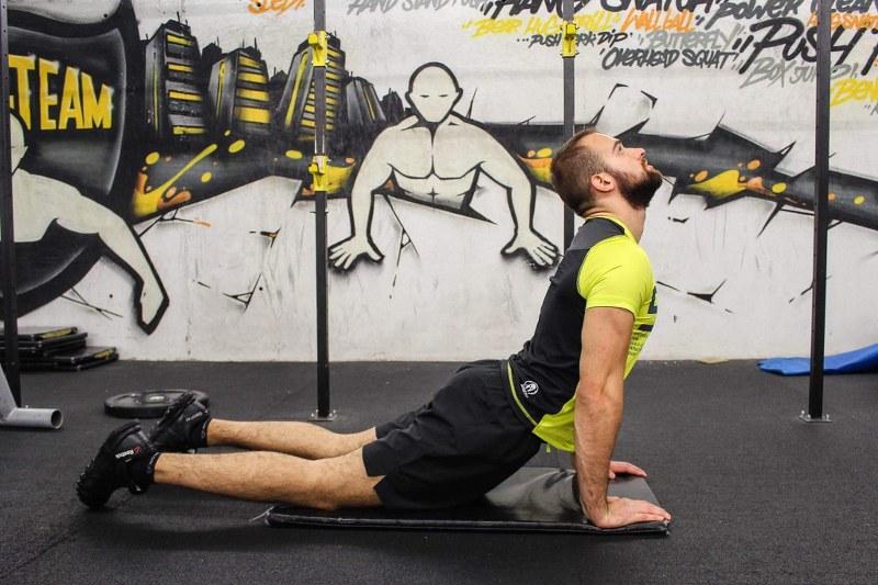 Cobra Back Stretch