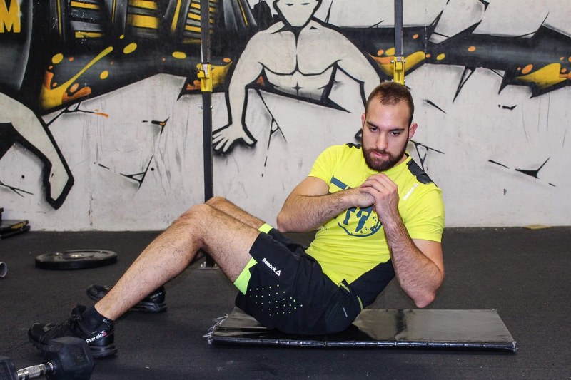 Abs exercises & variation with side rotation move