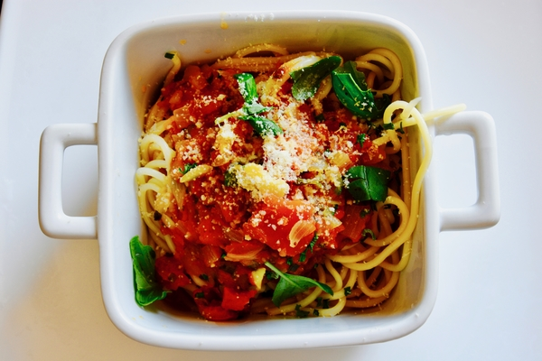 Pasta & Fresh Vegetables