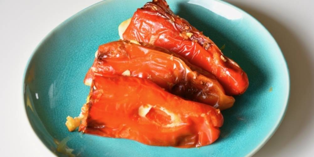 Peppers Stuffed With Cottage Cheese