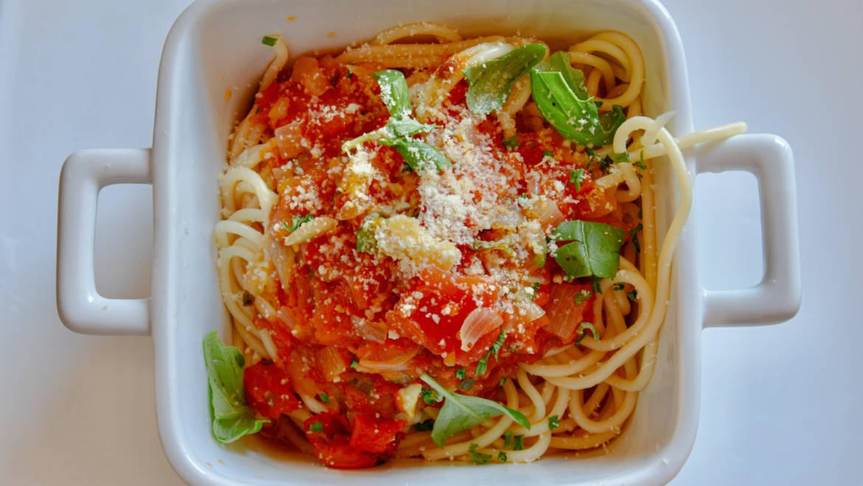 Pasta With Fresh Veggies